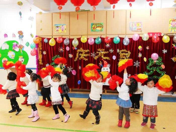 """育才幼儿园""""迎新年""""活动精彩纷呈"""