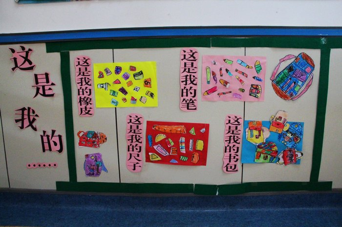 幼儿语言环境创设主题墙面图片