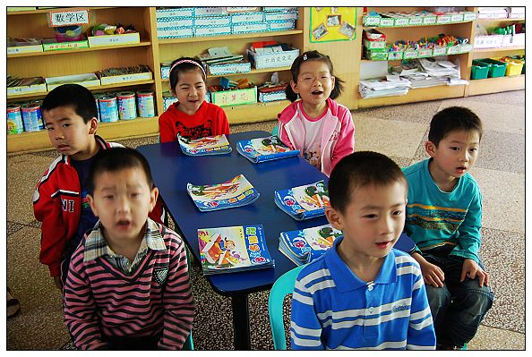 育才幼儿园开展晨间阅读活动