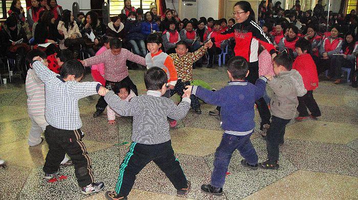 幼儿园观摩教学活动圆满结束